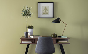 behr interior green color